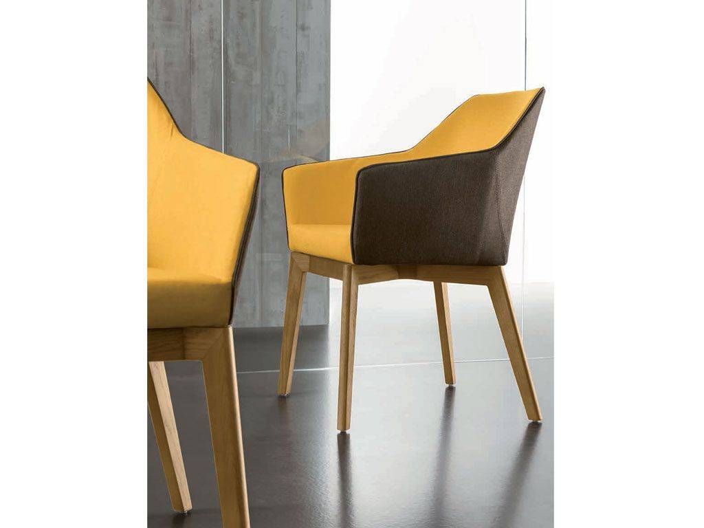 Terrific Armchair With Structure In Solid Wood Trafic Gmtry Best Dining Table And Chair Ideas Images Gmtryco