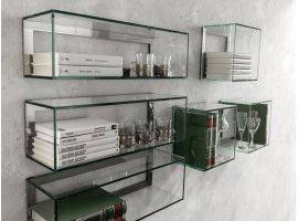 Shelf in glass Crystal