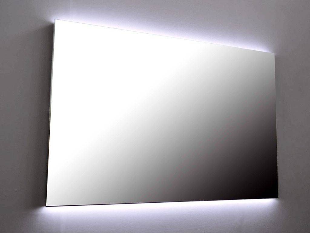 miroir rectangulaire led r tro clair backstage. Black Bedroom Furniture Sets. Home Design Ideas