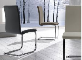 Chair in ecoleather Sailor