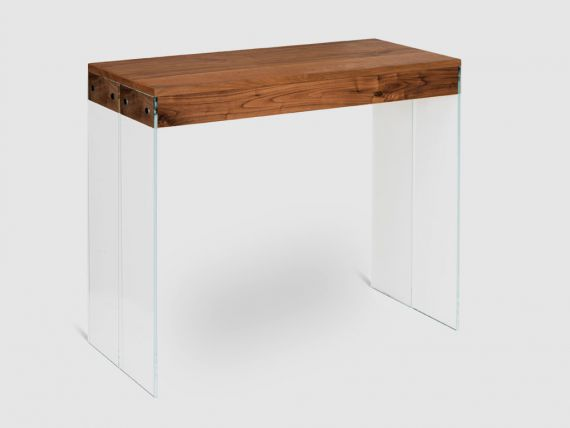 Kyoto Quattro Extendible table in glass