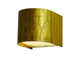 Applique lamp in oxidized brass Lola Tonda