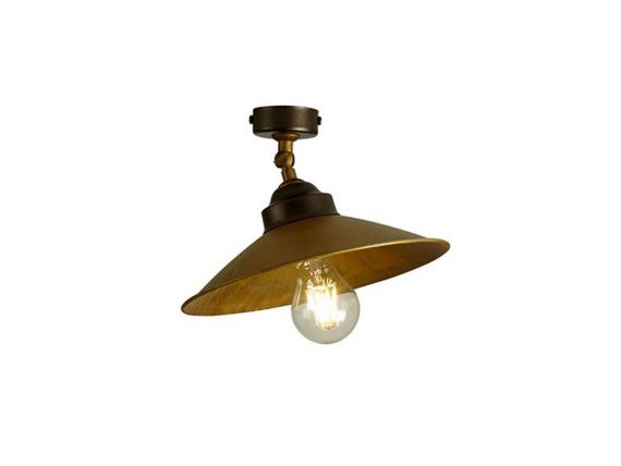 Ceiling lamp in brass rua mozeypictures Choice Image