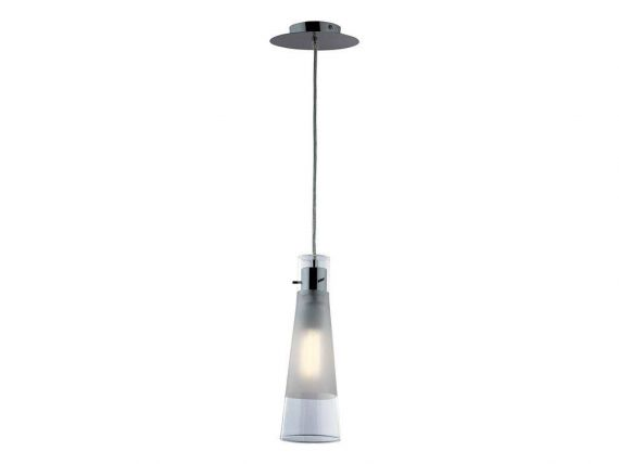 Kuky Clear SP1 hanging lamp with diffusor in glass