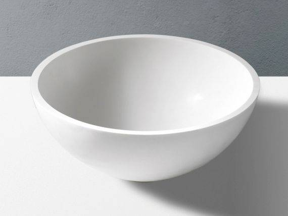 Round countertop washbasin Pantheon