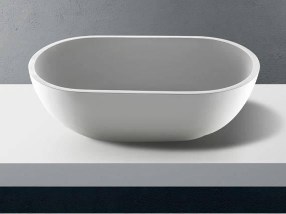 Countertop washbasin in Betacryl Solid Surface Circus