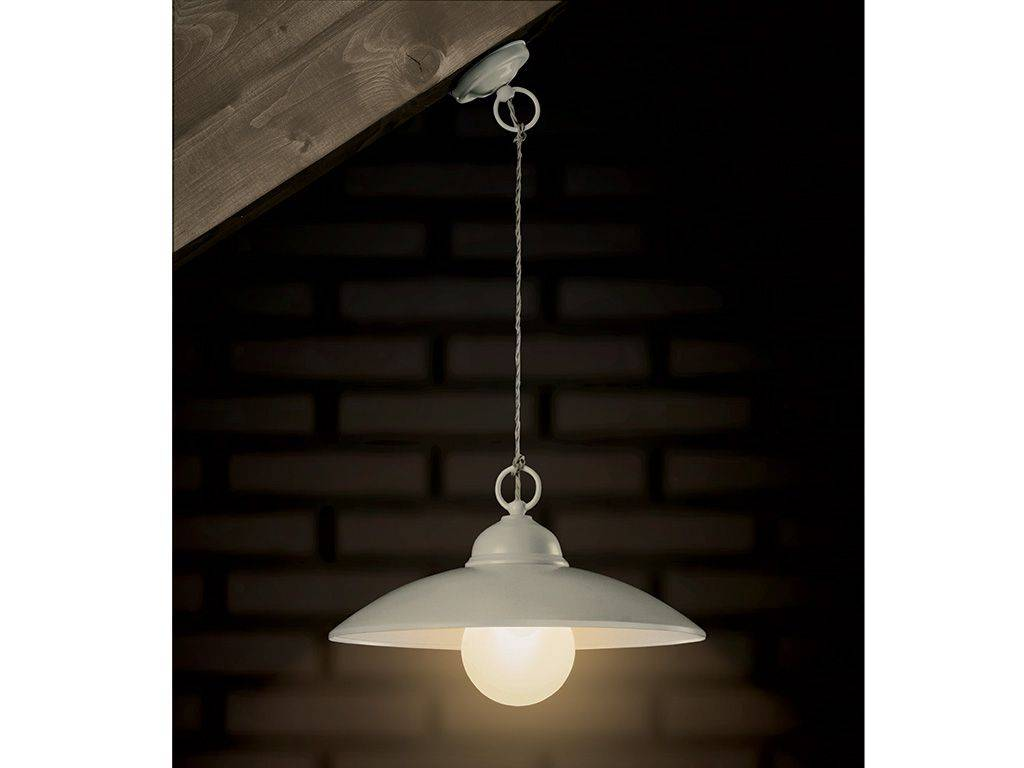 Suspended lamp in metal baja for Suspension metal
