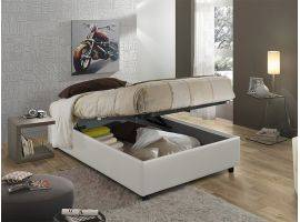 Sommier 120 upholstered bed with container