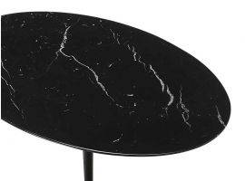 Table basse ronde Tulip Saarinen diamètre 51