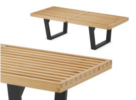 Nelson wooden bench