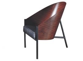 Costes wooden armchair