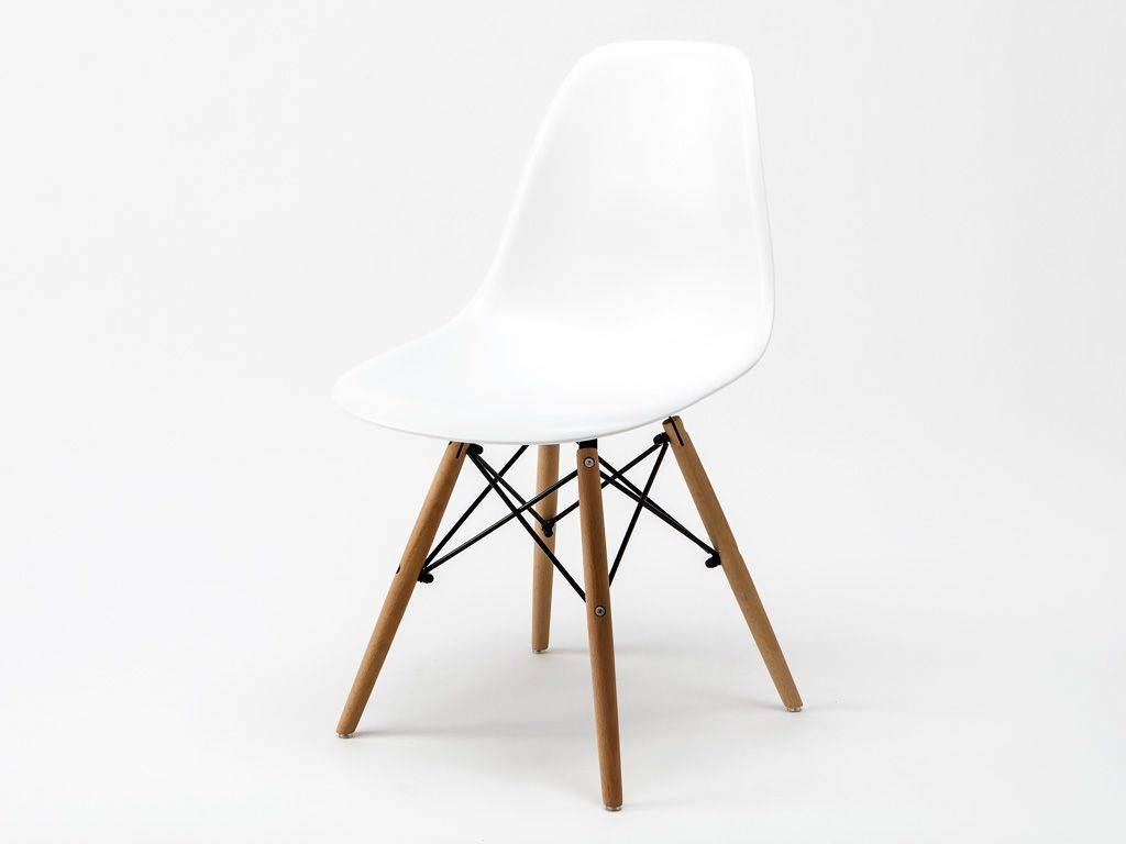 Sedie Charles Eames. Charles Ray Eames Style Dsw Side Chair Vanilla Natural Legs U Furniture ...