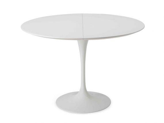 Tulip Saarinen extendible table diameter 100