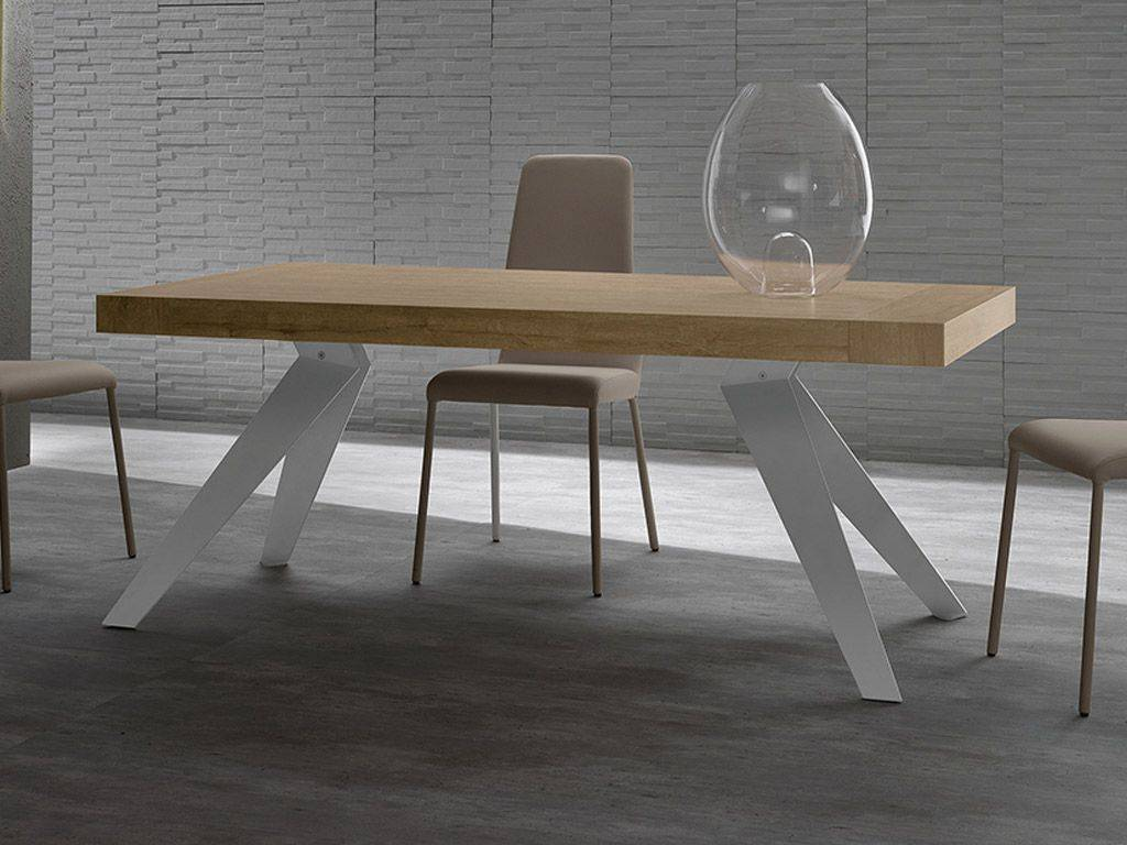 Medy extending table in wood