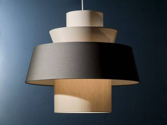 Hanging lamp with lampshade Multipla