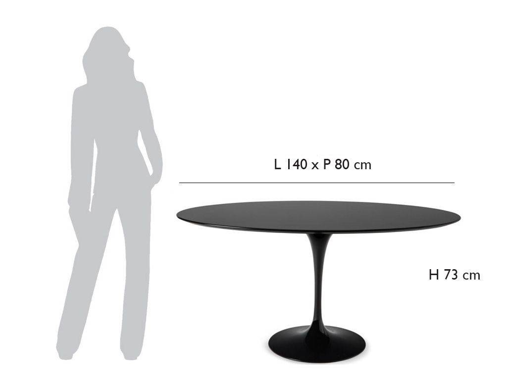 Saarinen Oval Table 140x80