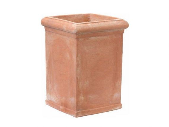 Tuscan smooth Pilone 034 terracotta pot
