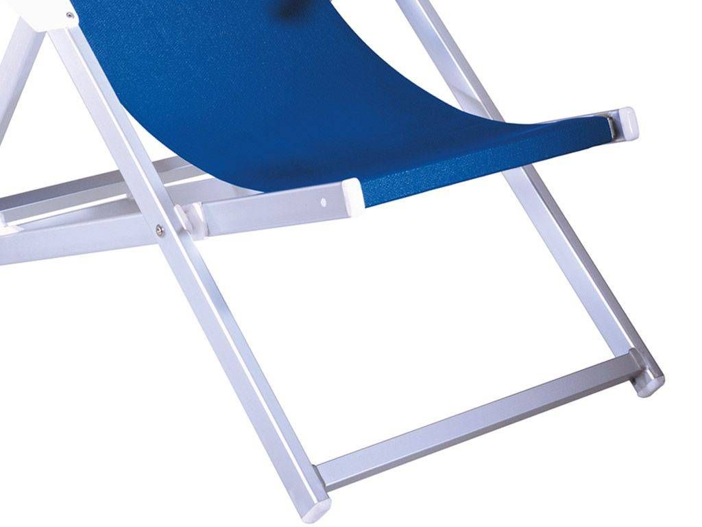 Relax chaise longue de plage en aluminium for Chaise longue de plage
