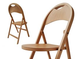 NAIMA TRIC wood folding chair