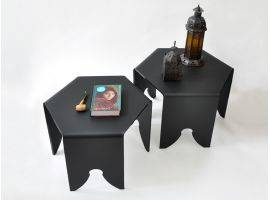 Couple of small nesting tables Zaira