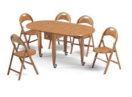 Wooden Folding table Fly
