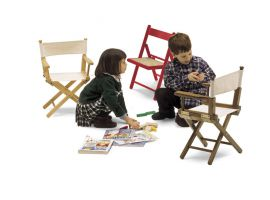 Regista Baby garden chair in wood