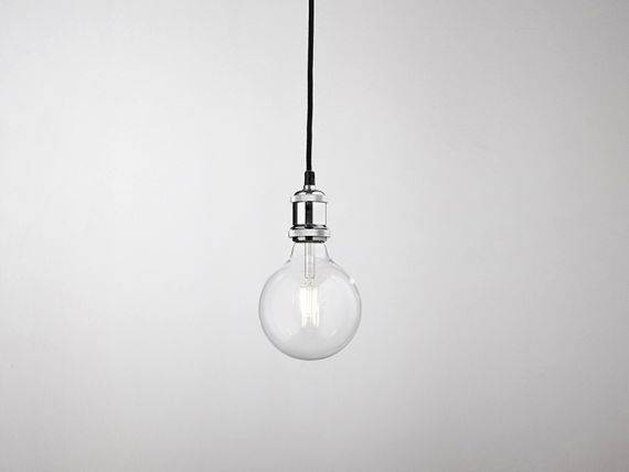 Hanging lamp in industrial style PENDEL 6253