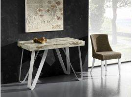 Metal and Wooden Design table-consolle  Axel 325