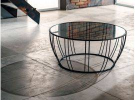 Short round coffee-table Bongo