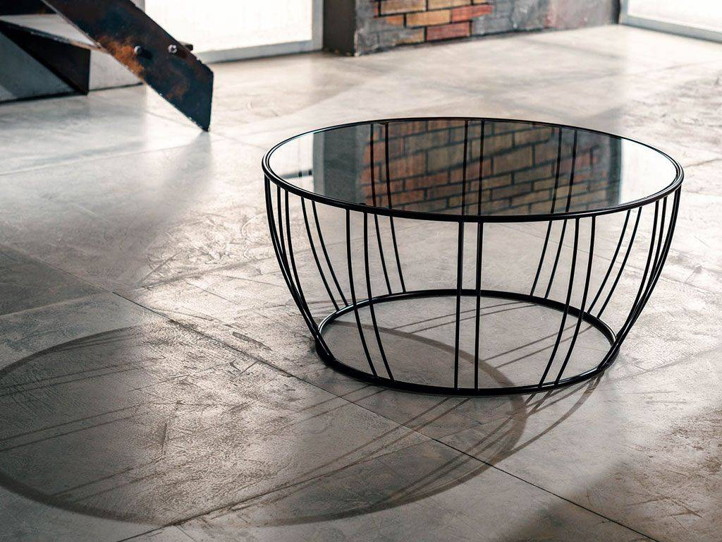 Short Round Coffee Table Bongo