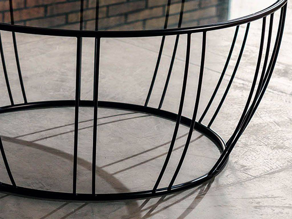 Short round coffeetable Bongo