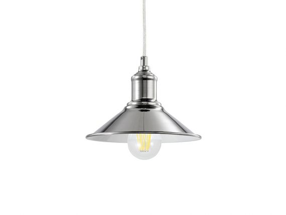 Hanging lamp with metal structure Seaman