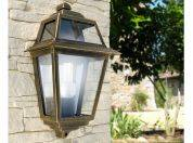 Wall outdoor lamp with aluminium and glass structure Artemide