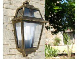 Wall lantern in aluminium and glass Artemide