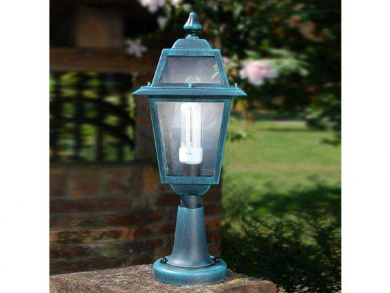 Garden lamp with aluminium and glass structure Artemide