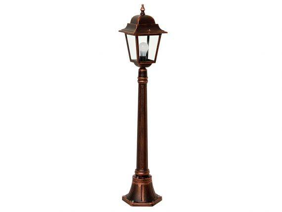 Garden lamp with aluminium and glass structure Athena