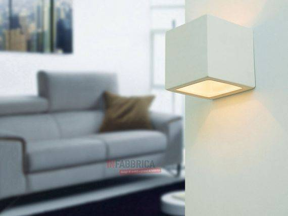 Dyable Ceramic Wall Lamp QUADRO