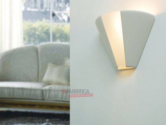 Dyable Ceramic Wall Lamp RITA
