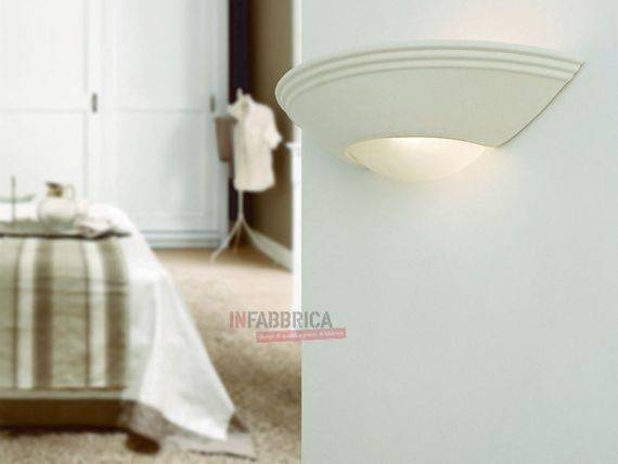 Dyable Ceramic Wall Lamp SOLE