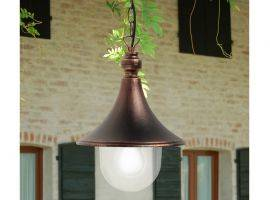 Aluminium hanging light or ceiling light Dione