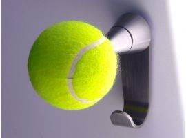 Coat and clothes hook Tennis +