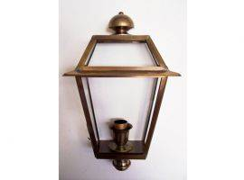 Florentine-Brass Wall Lamp
