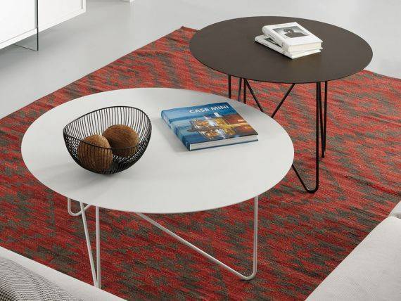 Metal Round Coffee Table Shape