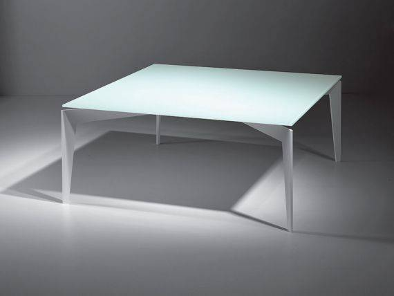 Nordic table basse en verre