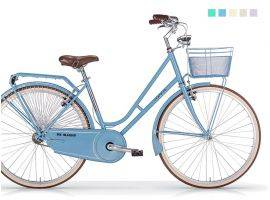 Bicicletta Old-Style con cestino Moonlight Donna