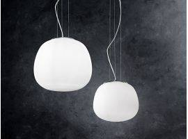 Hanging lamp in glass BOLLA 6352