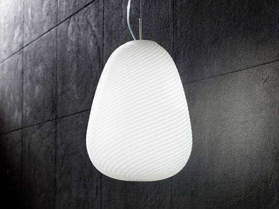 Glass Hanging lamp SAND 6462