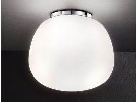 Glass ceiling lamp Candy 6356