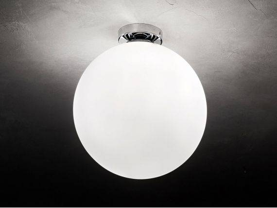 Glass ceiling light EUROPA
