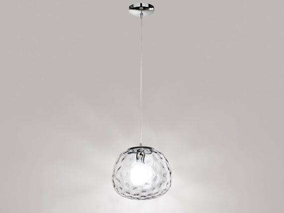 Glass hanging lamp SPHERE 6466